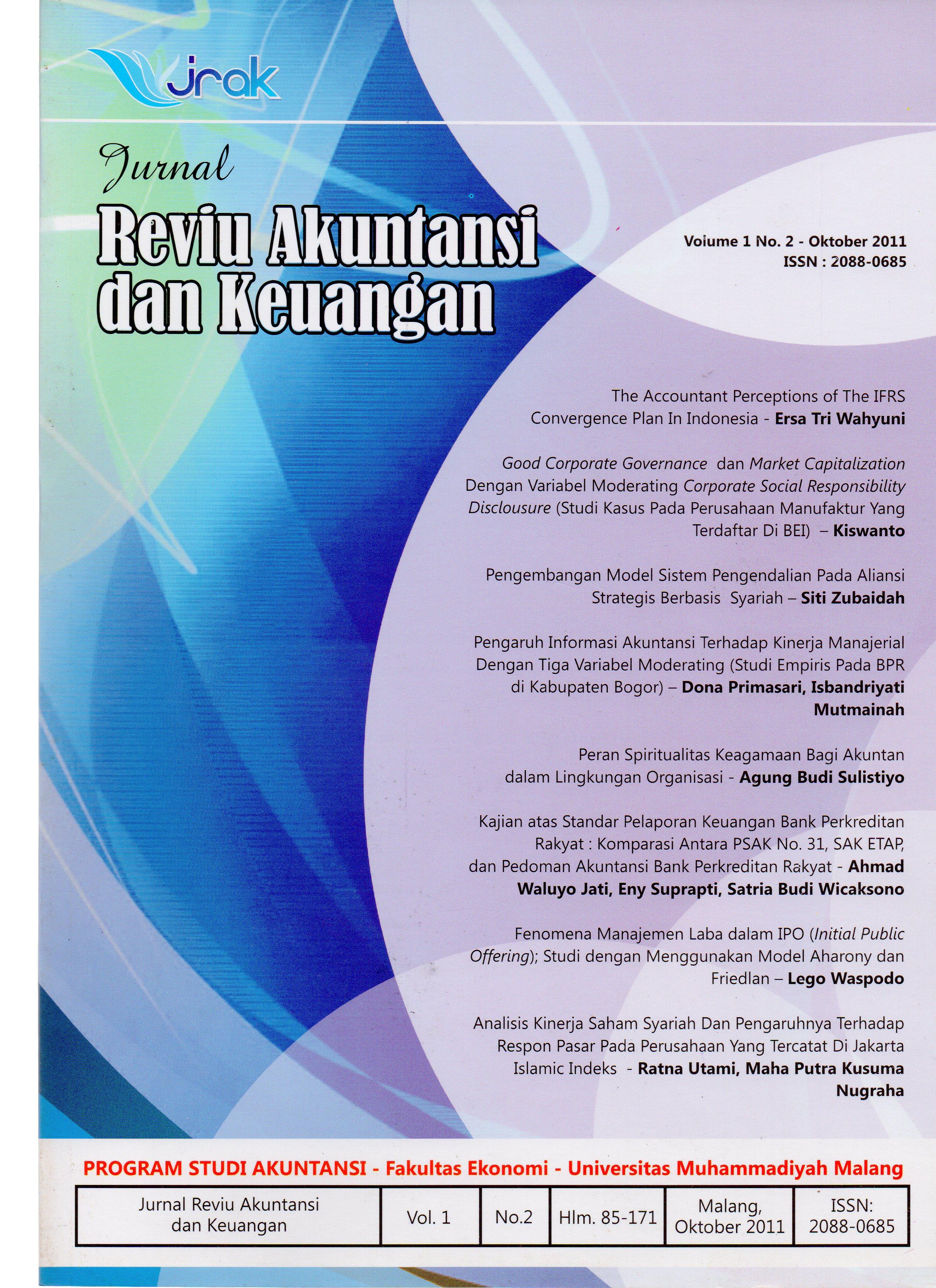 View Vol. 1 No. 2: Jurnal Reviu Akuntansi dan Keuangan
