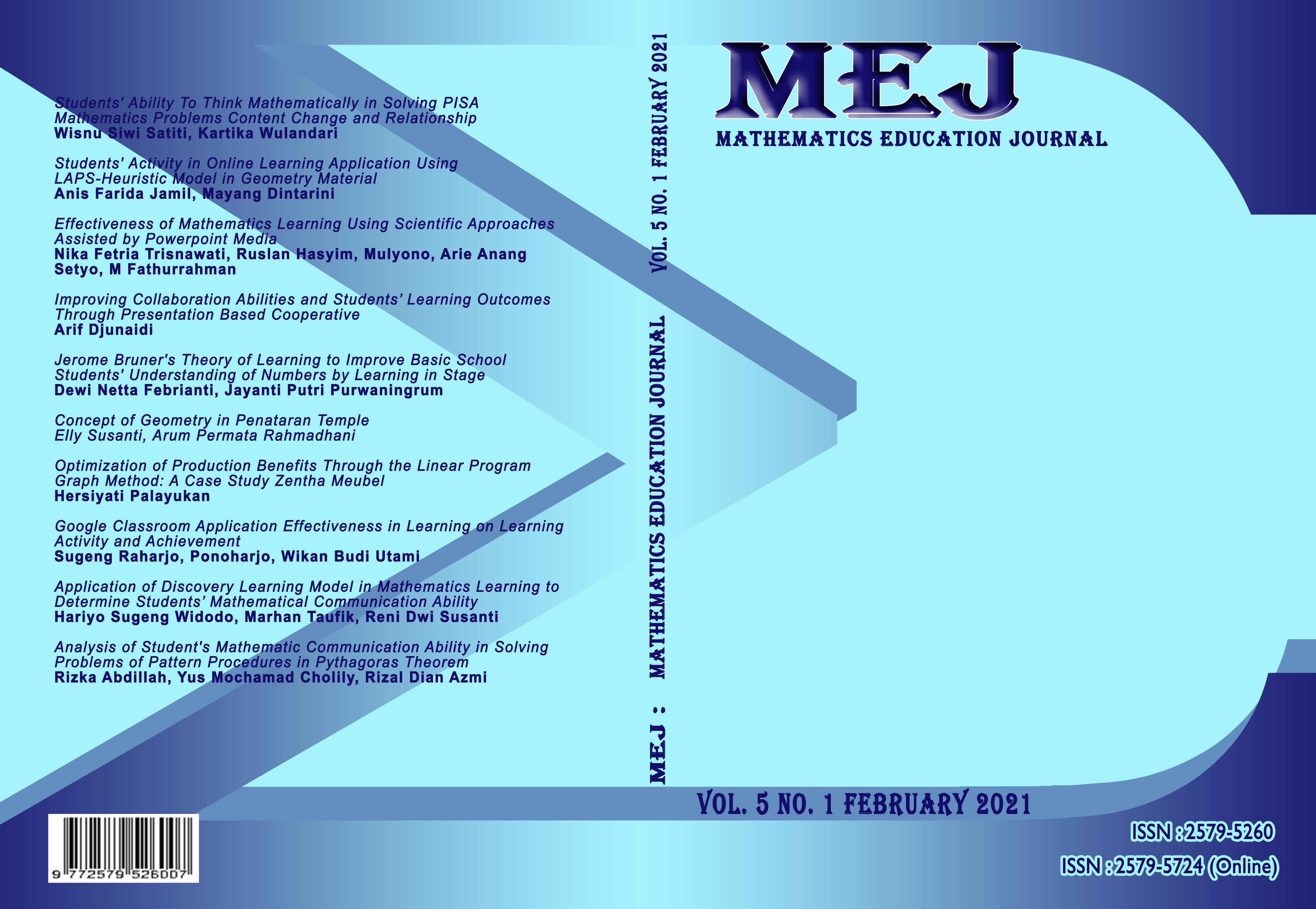 Vol. 5 No. 1 (2021)