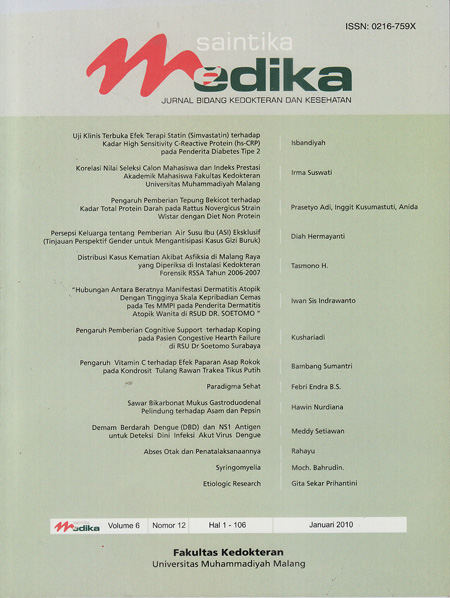 View Vol. 6 No. 1 (2010): Januari 2010
