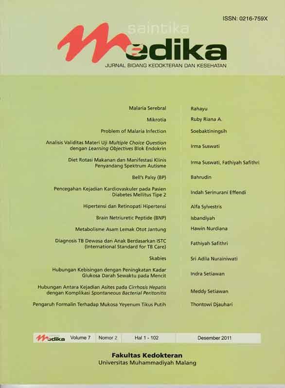 View Vol. 7 No. 2 (2011): Desember 2011