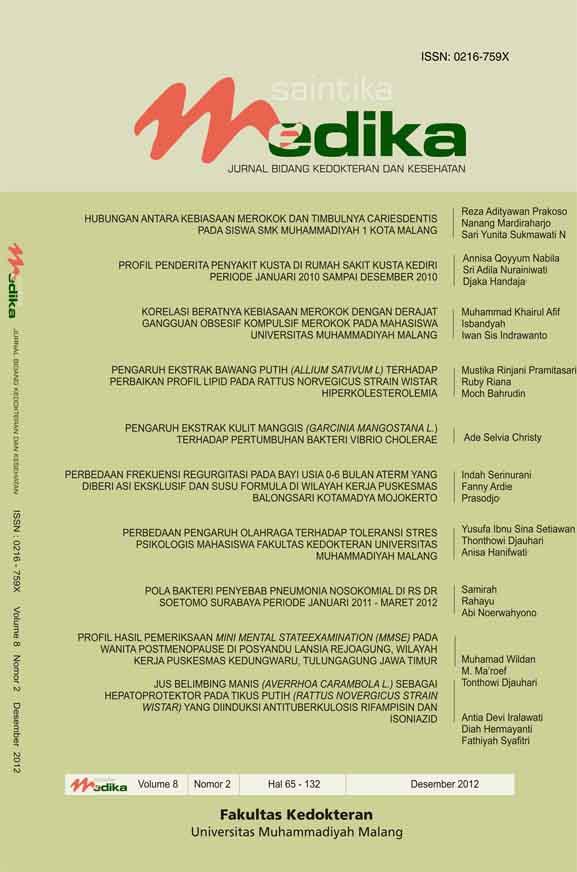 View Vol. 8 No. 2 (2012): Desember 2012