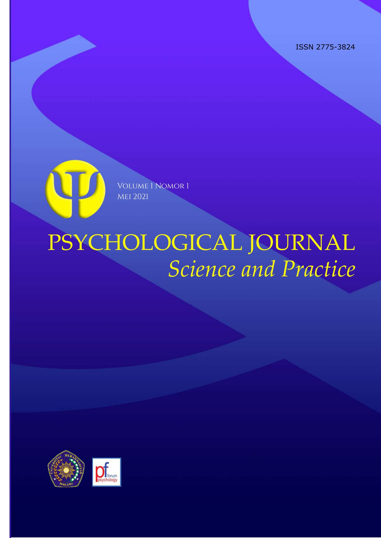 View Vol. 1 No. 1 (2021): Psychological Journal: Science and Practice