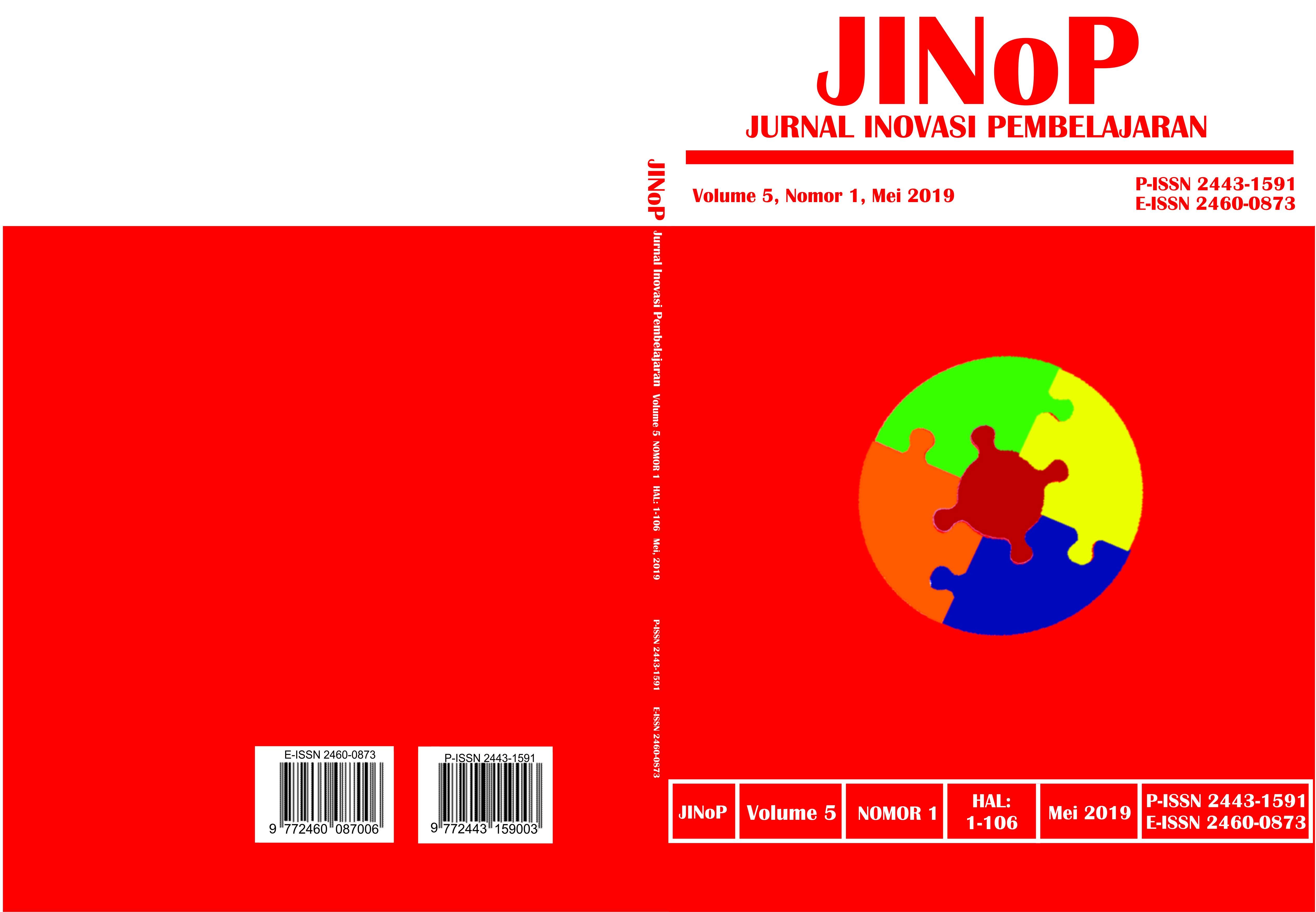 View Vol. 5 No. 1 (2019): Mei 2019