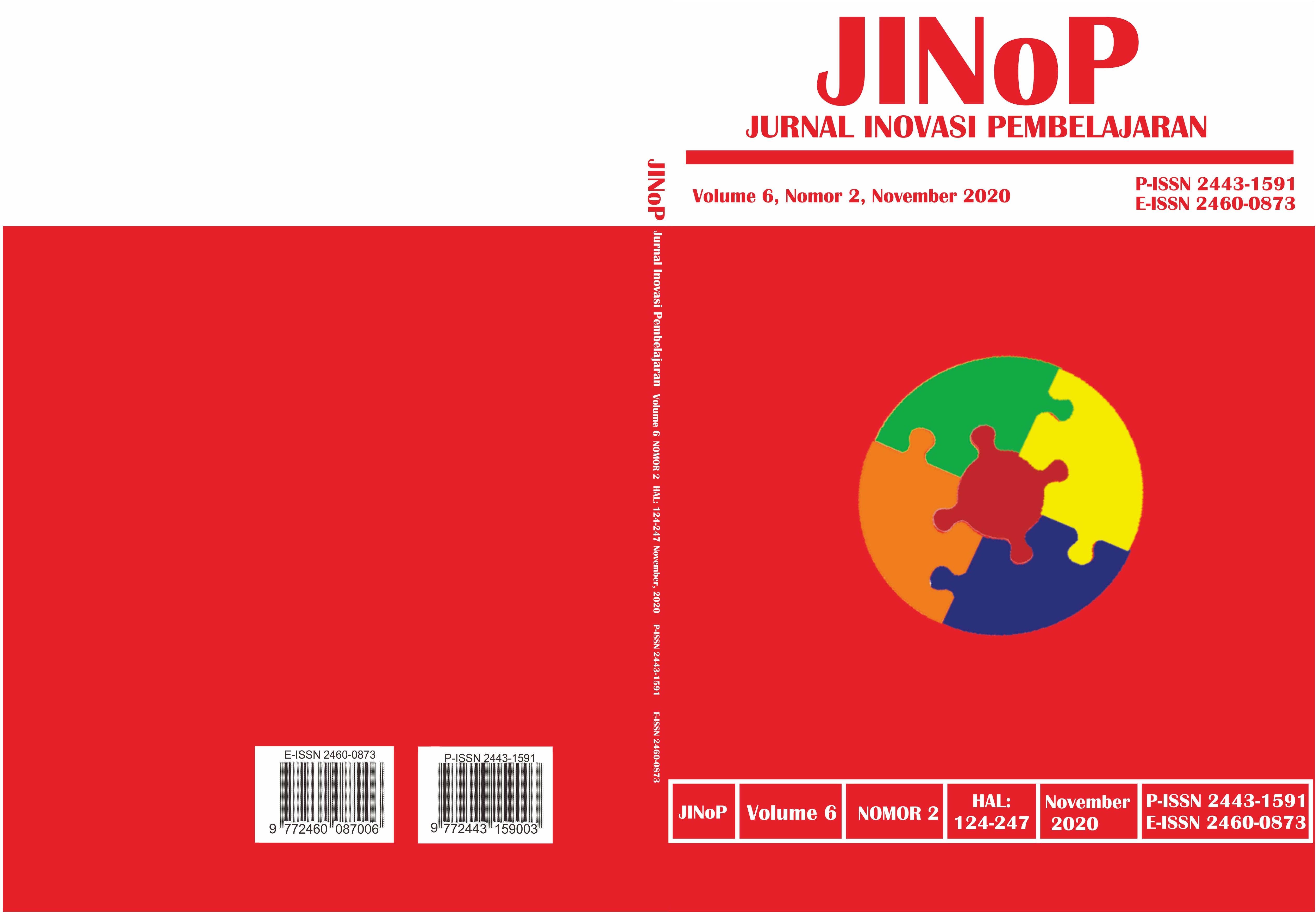 View Vol. 6 No. 2 (2020): November 2020