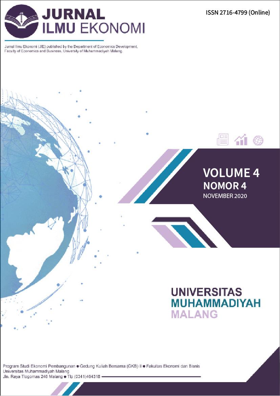 View Vol. 4 No. 4 (2020): Jurnal Ilmu Ekonomi