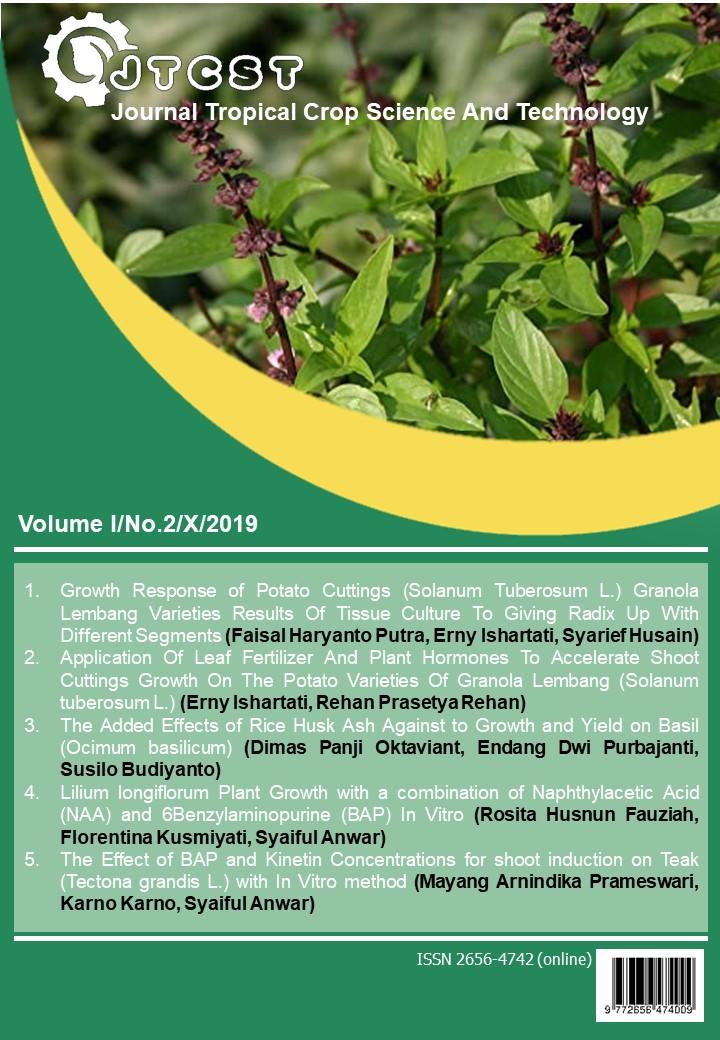 View Vol. 1 No. 2 (2019): VOLUME 1, NO. 2, OCTOBER 2019