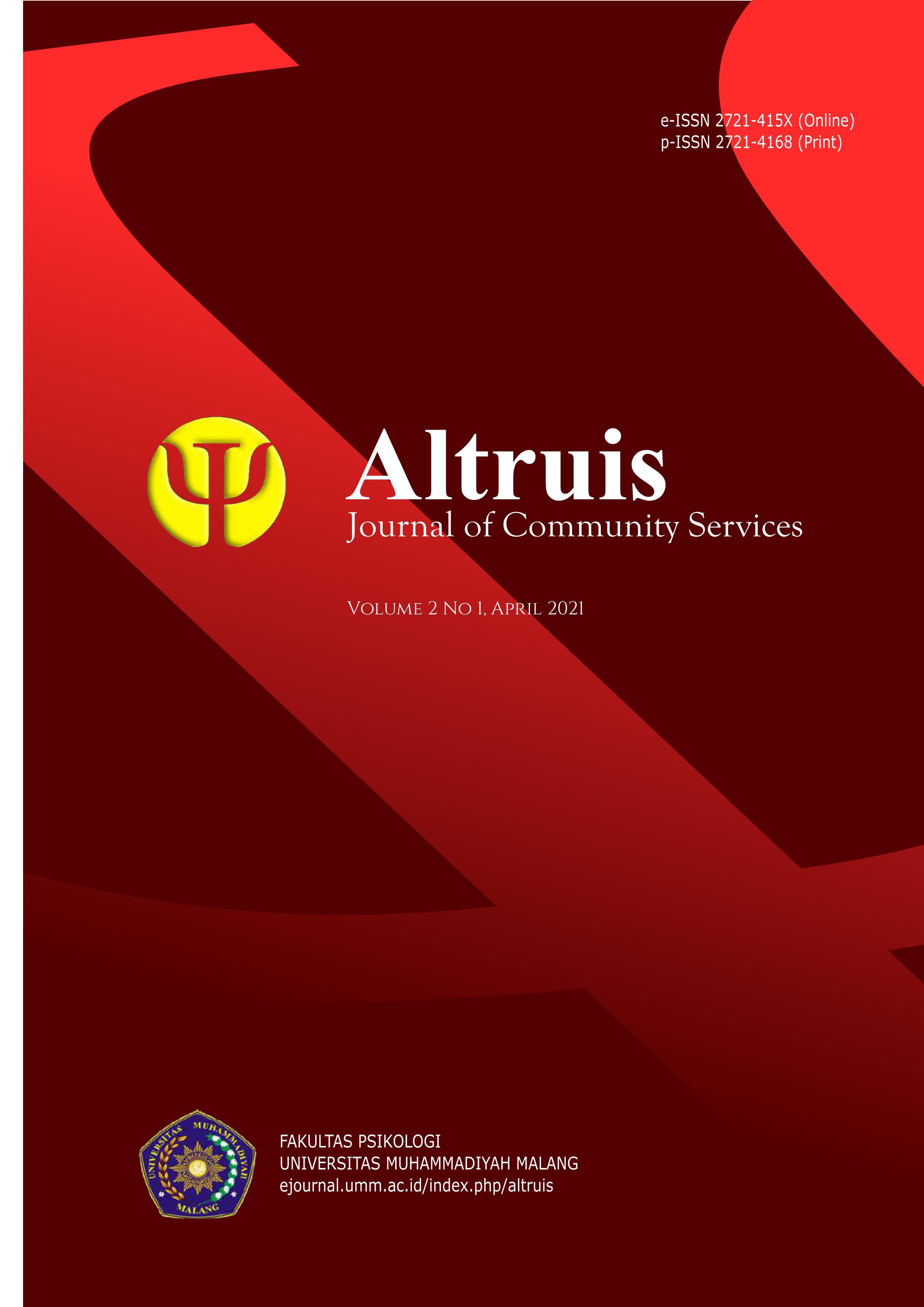 View Vol. 2 No. 1 (2021): Altruis